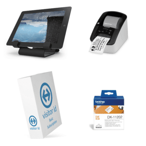 visitor id Kiosk Desktop Bundle Basic