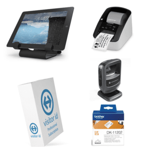 visitor id Kiosk Desktop Bundle Professional